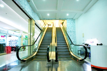 Energy-saving and Energy Regeneration Technology Comfortable Commercial Glass Escalator