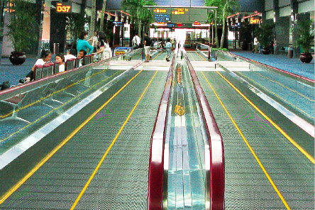 Low Vibration and High Safety Coefficient Energy-saving glass Passenger Conveyor